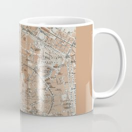 Milan, Italy / Milano, Italia antique map Coffee Mug