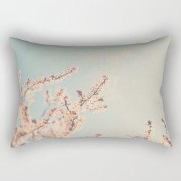 spring is in bloom ...  Rectangular Pillow