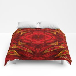Red involvements Comforters
