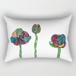 Graphic tulips Rectangular Pillow