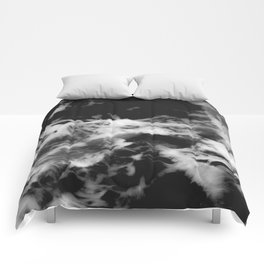 Waves of Marble Comforters