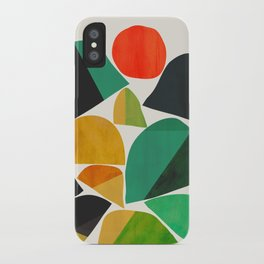 Mountains as the giants iPhone Case