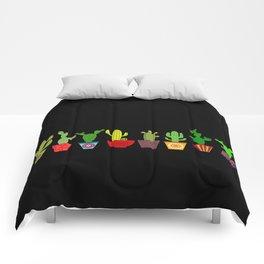 Cactus in black Comforters