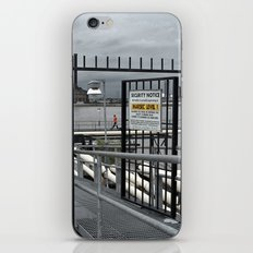 The Open Security Gate iPhone & iPod Skin