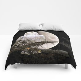 Snowy Owl A144 Comforters