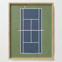 Tennis Court | Match Point  Serving Tray