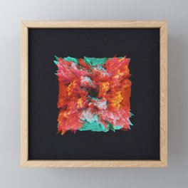Plasma Framed Mini Art Print