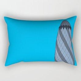 London Town - The Gherkin Rectangular Pillow