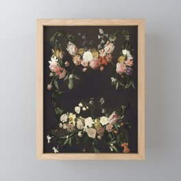 Every hour of the light and dark is a miracle Framed Mini Art Print