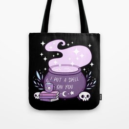 Witch Cauldron Tote Bag