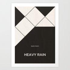 Quantic Dream's Heavy Rain Art Print