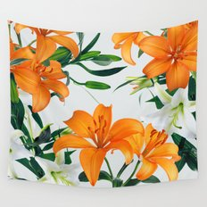 Glorious Lilies Wall Tapestry