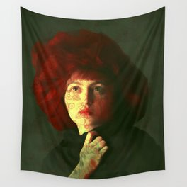 The red hat Wall Tapestry