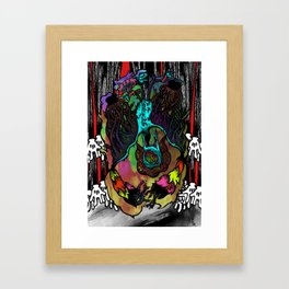 The Bat-Thing from Looneyland Framed Art Print