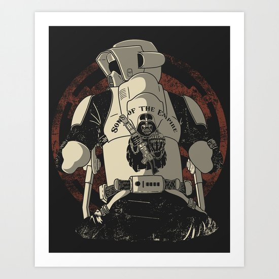 Sons of the Empire Art Print