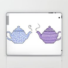Patterned Teapots Laptop & iPad Skin