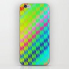 Little dogs multicolor iPhone & iPod Skin