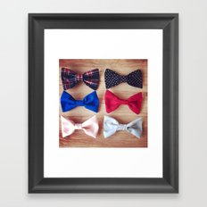 6Bows Framed Art Print