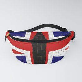 Union Flag With Big Ben Tiled Fanny Pack