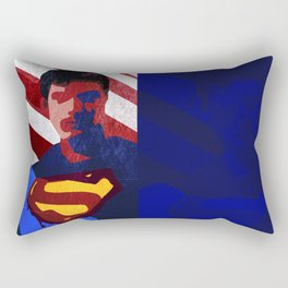 Superman Minimal Movie Poster Rectangular Pillow