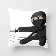 Ninja Swing Throw Pillow