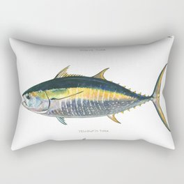 Tunas poster Rectangular Pillow