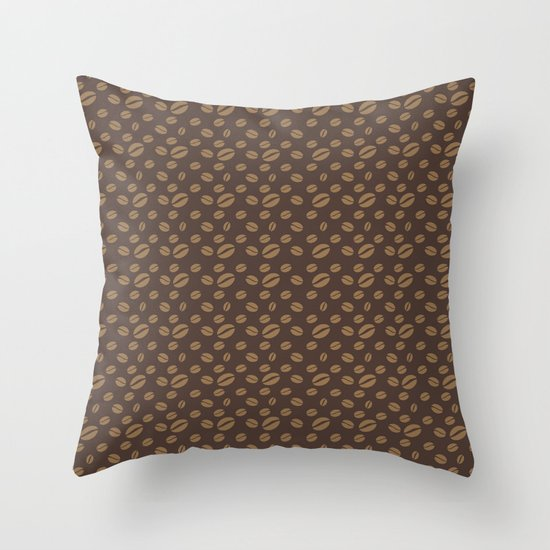 Fancy a cup of coffee? Throw Pillow