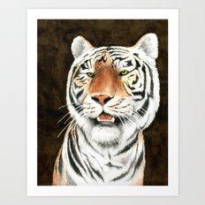 Silent Stalker - Tiger Art Print