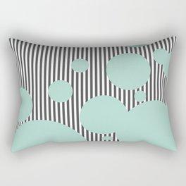 Mint Cream Dream Rectangular Pillow