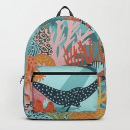 Sunny Sea Garden Backpack