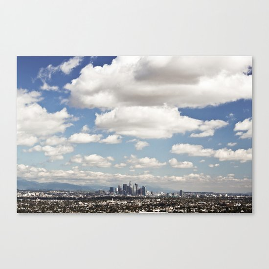Los Angeles Cityscape Canvas Print