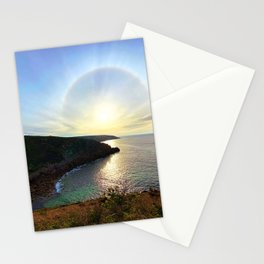 Leave nothing, but your footprints series Stationery Cards