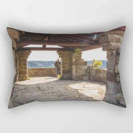 Badlands Overlook, Theodore Roosevelt NP, ND 33 Rectangular Pillow