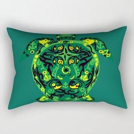 The Incredible Turtle Rectangular Pillow
