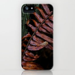 Fern and Tree iPhone Case