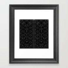 Divide Framed Art Print