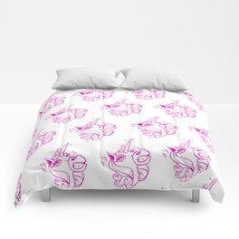 Terry unicorn Comforters