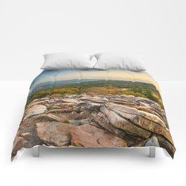 Spruce Knob Mountain Sunset Comforters