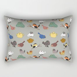 Tiny birbs Rectangular Pillow