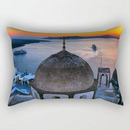 Santorini 21 Rectangular Pillow