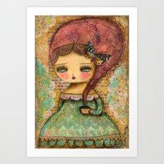 The Queen Marie Antoinette Art Print