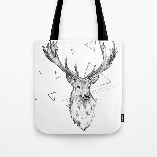 Frankly Deer Tote Bag