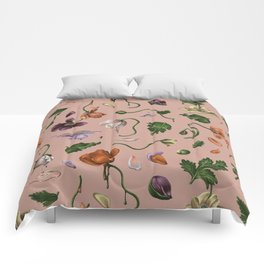 Melting Poppies Comforters