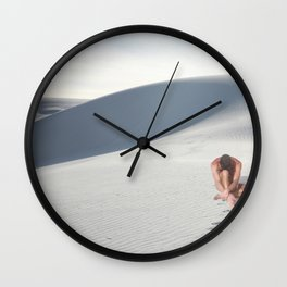 nude one Wall Clock