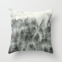 metal Throw Pillows featuring Everyday by Tordis Kayma