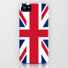 UK FLAG - The Union Jack Authentic color and 3:5 scale  iPhone (5, 5s) Slim Case