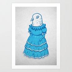 Guayaquil - Ms Dove Art Print