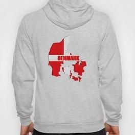 Denmark map Hoody