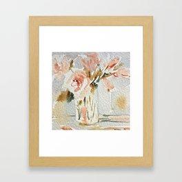 Timeless - Roses of Monet Framed Art Print