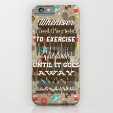 Exercising... iPhone 6s Slim Case